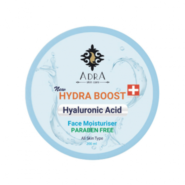 کرم مرطوب کننده و آبرسان حاوی هیالورونیک اسید Adra 200ml