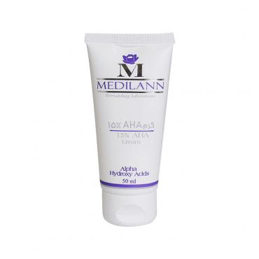 کرم لایه بردار آ اچ آ 15 درصد مناسب انواع پوست Medilann