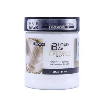 ماسک مو بدون سولفات کراتین Blond Bar 300ml