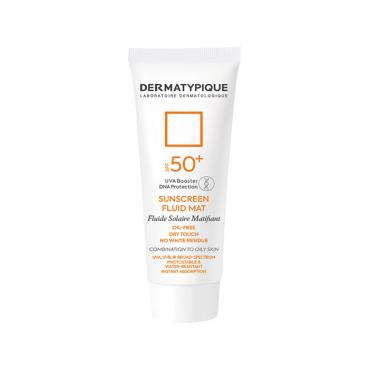 فلوئید ضد آفتاب بی رنگ فاقد چربی DERMATYPIQUE SPF50