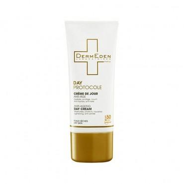 کرم ضد آفتاب پوست خشک Dermeden SPF 50