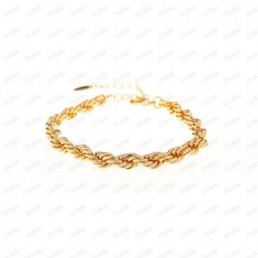 دستبند طنابی ZJ طلایی Tandis 2292