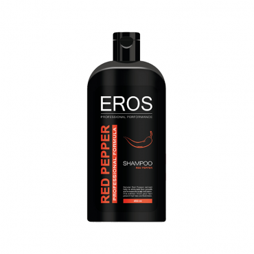 شامپو حاوی عصاره طبیعی فلفل قرمز Eros
