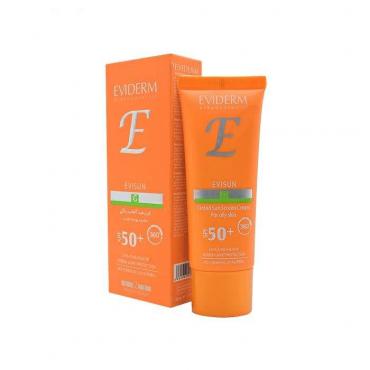 کرم ضد آفتاب رنگی اویسان پوست چرب EVIDERM SPF 50
