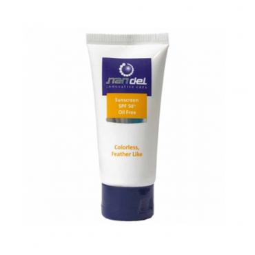 کرم ضد آفتاب فاقد چربی با Nandel SPF50