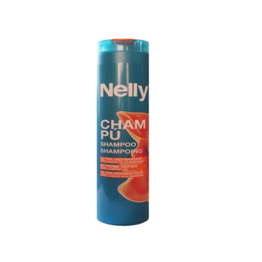 شامپو ترمیم کننده مو حاوی روغن بادام NELLY