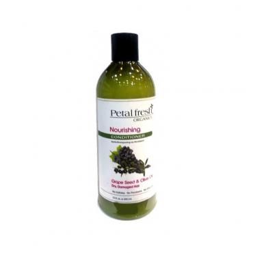 نرم کننده تقویتی دانه انگور و زیتون برای موی خشک Petal Fresh 355ml