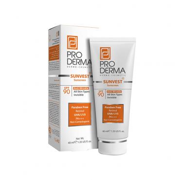 کرم ضد آفتاب و ضد چروک PRODERMA SPF 90