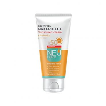 کرم ضد آفتاب فاقد چربی مکس پروتکت Neuderm