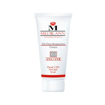 کرم ضد آفتاب رنگی مناسب پوست های چرب و آکنه ای با Medilann SPF60