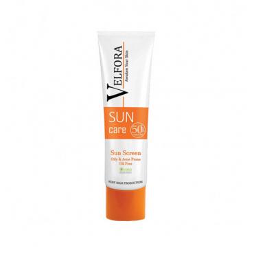 کرم ضد آفتاب فاقد چربی با Velfora SPF50