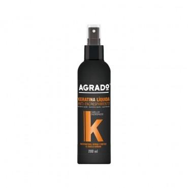 اسپری ترمیم کننده مو کراتینه AGRADO