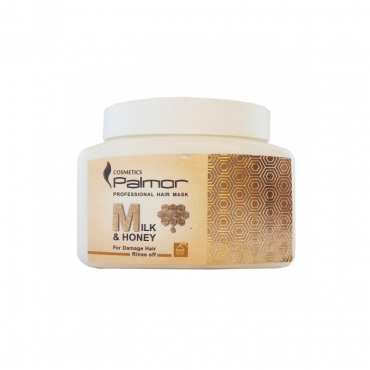 ماسک شیر و عسل مناسب موهای آسیب دیده Palmor
