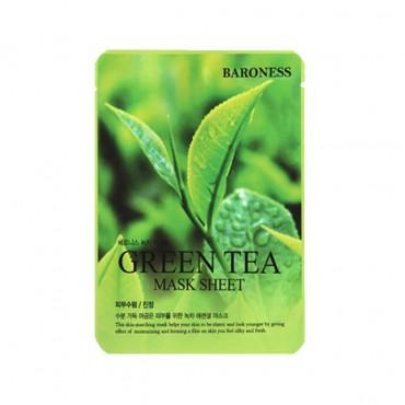 ماسک ورقه ای چای سبز BARONESS