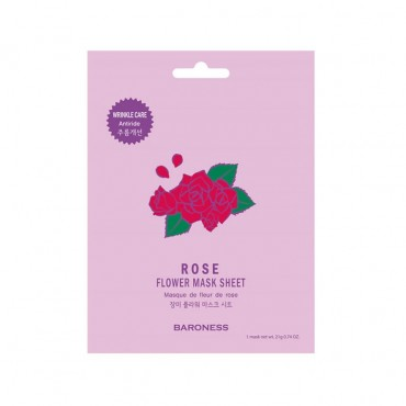 ماسک ورقه ای گل سرخ BARONESS