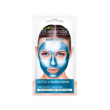 ماسک پاکسازی کننده آبی برای پوست های خشک و حساس Bielenda