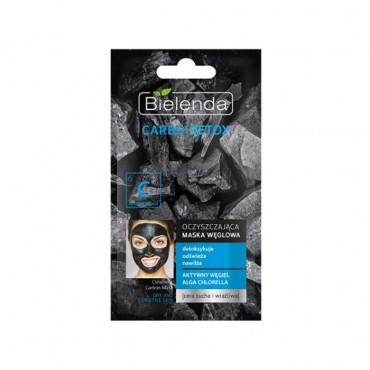 ماسک زغال برای پوست های خشک و حساس Bielenda