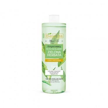 میسلار پاک کننده آرایش چای سبز Bielenda