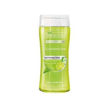 تونر پاک کننده صورت حاوی عصاره ليمو و خيار Bielenda