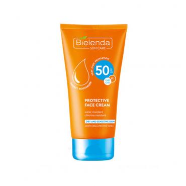 کرم ضد آفتاب پوست خشک و حساس Bielenda