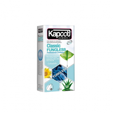 کاندوم ضد قارچ کلاسیک 12 عددی KAPOOT