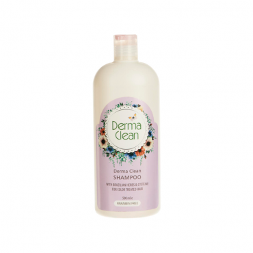 شامپو تثبیت کننده رنگ مو Derma Clean 500ml
