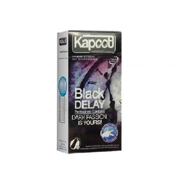کاندوم  تاخیری مشکی 12 عددی KAPOOT