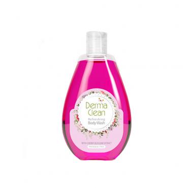 شامپو بدن و دئودورانت با عصاره شکوفه گیلاس Derma Clean