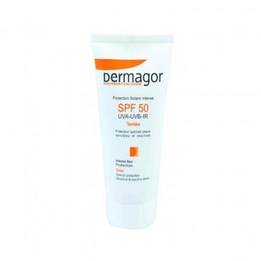 ضد آفتاب فاقد چربی رنگی Dermagor SPF 50