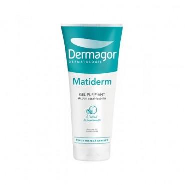 ژل پاک کننده پوست چرب متی درم Dermagor 200ml