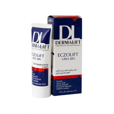 كرم مرطوب کننده حاوی اوره 20% اگزوليفت Drmalift