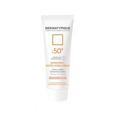کرم ضد آفتاب رنگی بژ طبیعی مناسب پوست خشک Dermatypique SPF50