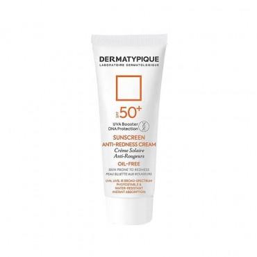 کرم ضد آفتاب پوست قرمز و حساس با DERMATYPIQUE SPF50
