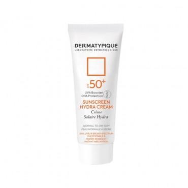 کرم ضد آفتاب بی رنگ هیدرا مناسب پوست خشک +DERMATYPIQUE SPF50
