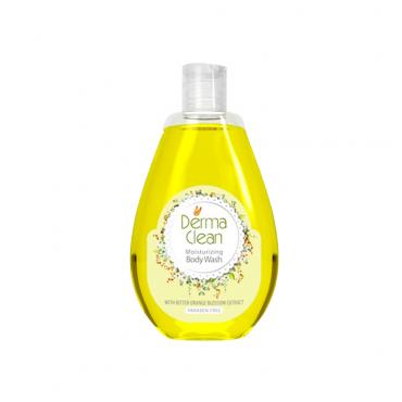 شامپو بدن مرطوب و نرم کننده با عصاره شکوفه بهارنارنج Derma Clean