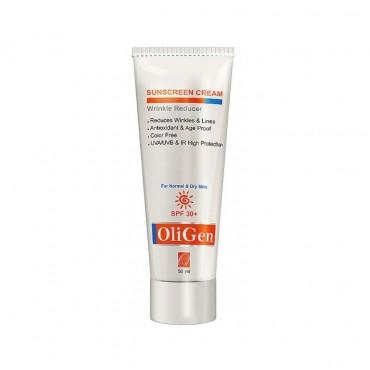 کرم ضد آفتاب و ضد چروک پوست خشک Oligen