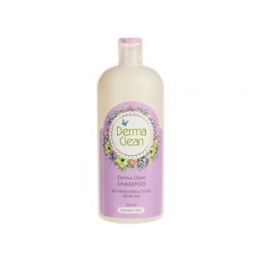 شامپو موی خشک با عصاره گیاهان هندی و سیستئین Derma Clean