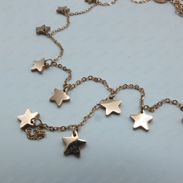 گردنبند ستاره رزگلد Tandis 1134