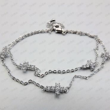 دستبند فانتزی سفید Tandis 1999