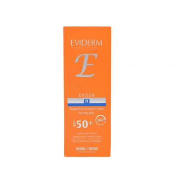 کرم ضد آفتاب رنگی اویسان  EVIDERM H2 SPF 50