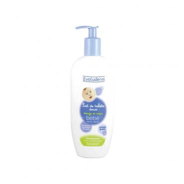 شیر پاک کن بدن و صورت کودک Evoluderm