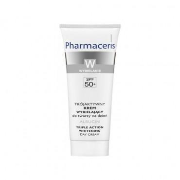 کرم روشن کننده و ضد لک با SPF۵۰ آلبوسین Pharmaceris