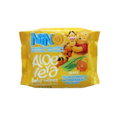 دستمال مرطوب پاک کننده کودک Nino