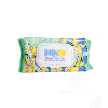 دستمال مرطوب کودک کالاندولا درب دار Nino