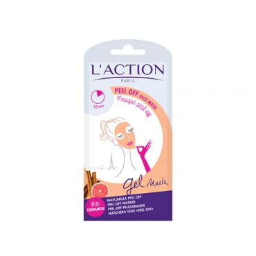 ماسک لایه بردار و پاک کننده پوست L'ACTION