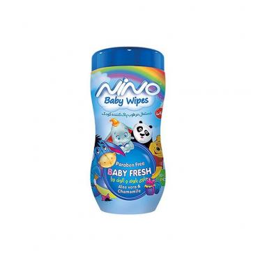 دستمال مرطوب پاک کننده کمر باریک کارتونی کودک Nino