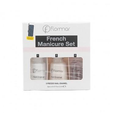 ست مانیکور ناخن فرنچ 319 Flormar