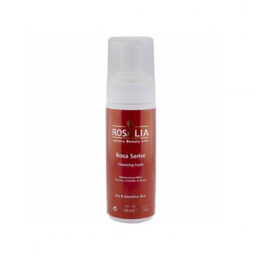 فوم پاک کننده پوست خشک و حساس رزا سنس Rosalia