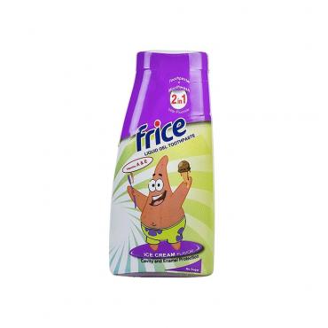 خمیردندان ژل مایع کودک 2 در 1 بستنی Frice