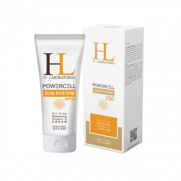 کرم ضد آفتاب بدون رنگ با H-Laboratories SPF50